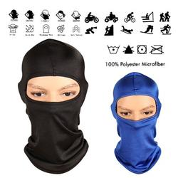 2 Pack Outdoor Bike Motorcycle Helmet Neck Winter Hat Wind-Resistence Face Mask Full Face Ski Mask Cold Weather Face Mask Ski/Snowboard Winter Gear for Men Women Blue Black
