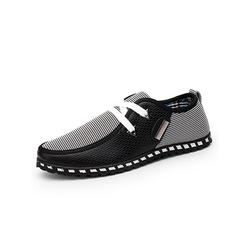 LUXUR Men's Casual Shoes Slip on Comfort Loafer Shoes Outdoor Fashion Boat Shoes