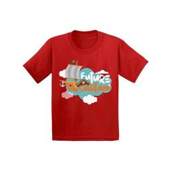Awkward Styles Future Captain Toddler Shirt Kids Future Job Shirts Funny Captain TShirts for Boys Funny Captain TShirts for Girls Cute Birthday Gifts Kids Sailor T shirts Pirate Birthday Party
