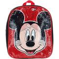 """Ruz Mickey & Minnie 12"""" Mini Backpack with Reversible Sequins, Zippered main compartment By Brand Ruz"""