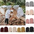 SUNSIOM Women Men Kids Winter Warm Knitted Beanie Ski Hat Kid Baby Unisex Cap