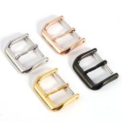 FANTADOOL Stainless Steel Watch Band Buckle Polished Stainless Steel Parts Strap Buckles