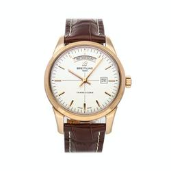 Pre-Owned Breitling Transocean Day & Date R4531012/G752
