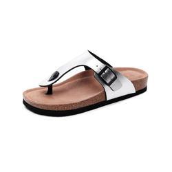 Wazshop Men Women's Cork Sandals Beach Slippers Sandals Casual Flat Summer Casual Shoes