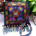 Women Ethnic Wallet Embroider Purse Clutch Mobile Phone Bag Coin Bag