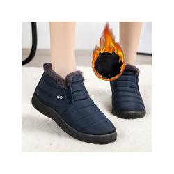 Avamo Women Mens Snow Ankle Boots Ladies Winter Casual Plush Lined Booties Shoes Size Winter Casual Shoes