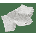 720 Pack - 12 Inch x 12 Inch White Cotton Value Rags - Reusable Lt Weight Thin Cloth Rags - Wood Stain/Painting/Crafts/Garage - 3/4 Lb per Dozen