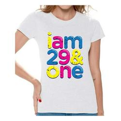 Awkward Styles I Am 29 & One Tshirt Awesome Thirty Year Old Thirty Shirt Birthday Gifts for Women B-Day Party Thirtieth Birthday Shirt 30th Birthday Party T Shirt Funny Birthday Shirts for Women