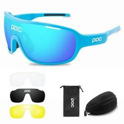 CVLIFE Polarized Sports Sunglasses Cycling Sun Glasses for Men Women Cycling Sunglasses UV400 Anti-Fog Sports Eyewear Bike Goggles