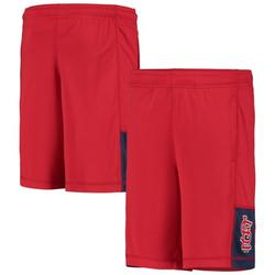 St. Louis Cardinals Youth Infield Fly Solid Shorts - Red