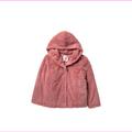 Elodie Faux Fur Jacket,DK PINK,Sz XL