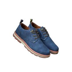 Lacyhop Men's Artificial Leather Business Casual Dress Shoes Flat Round Toe Fashion Casual Shoes
