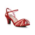 "Bp250-Margot, Womens 2.5"" Heel Tri Toned Strappy Sandal"