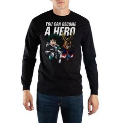 Long Sleve My Hero Academia Shirt My Hero Academia Apparel My Hero Academia TShirt - Long Sleeve My Hero Academia Tee My Hero Academia