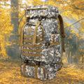 Moobody Hiking Backpack Camouflage Durable Outdoor Bag Shoulder Bag for Campiing Backpacking Travel