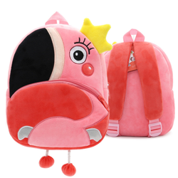 Toddler backpack, nursery backpack, plush animal backpack, mini cartoon backpack, mini animal backpack, preschool backpack, children's backpack, toddler school bag for baby girls,