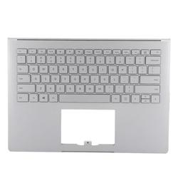Mgaxyff Laptop Keyboard Case,For Microsoft Surface Book 1st 1703 1704 1705 1706 Keyboard Case Replacement Silver,Keyboard Case Replacement