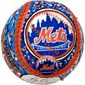 """""""Fanatics Authentic Pete Alonso New York Mets Autographed Baseball with """"""""2019 NL ROY"""""""" Inscription - Hand Painted by Artist Charles Fazzino"""""""