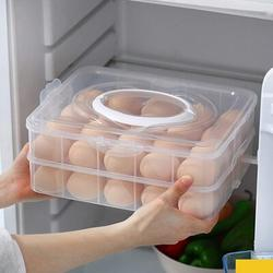 Prep & Savour 60 Grid Large Capacity Egg Holder Tray For Refrigerator, Household Egg Fresh Storage Container For Fridge, Size 8.8 W in   Wayfair
