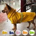 Manteau de pluie réfléchissant pour petits et grands chiens, imperméable, à la mode, respirant, pour