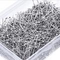 Épingles à coudre en acier inoxydable 35mm, 300 pièces/35mm, épingles à Suture droite, épingles Ã