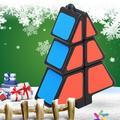 MIARHB kids toy Magic Cube 1X2X3 Christmas Tree Puzzle Ultra-Smooth Xmas Gifts