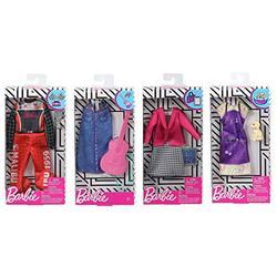 Barbie Dolls Barbie Clothes - Cute Career Barbie Accessories Set Bundle - Barbie Doll Racecar Jumpsuit, Groomer, Businesswoman & Musician Barbie Doll Clothes & Accessories - Universal Fit