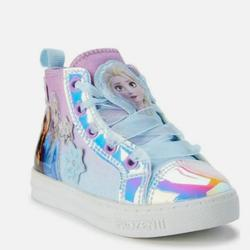 Disney Shoes | Disney Frozen 2 Toddler Girls Anna & Elsa Shoes 12 | Color: Blue | Size: 12g