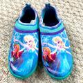 Disney Shoes   Disney Frozen Elsa & Anna Water Shoes   Color: Green/Purple   Size: 11g