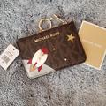 Michael Kors Bags | Nwt Michael Kors Card Holder Wallet | Color: Brown/Gold | Size: Os