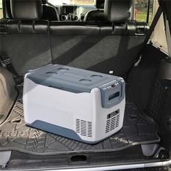 COLORFULLAVIE Car Fridge Portable Freezer Cooler w/ 12/24V DC, Travel Refrigerator For Vehicles, Car, Truck, RV, Camping BBQ   Wayfair