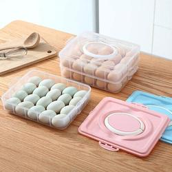 Prep & Savour 60 Grid Large Capacity Egg Holder Tray For Refrigerator, Household Egg Fresh Storage Container For Fridge, Size 8.8 W in | Wayfair