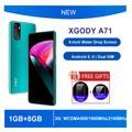 XGODY – Smartphone 3G Android 2200, téléphone portable, 1 go de RAM, 8 go de ROM, écran 6 pouces,