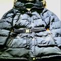Michael Kors Jackets & Coats | Michael Kors Women'S Belted Puffer Coat - Like New | Color: Gold/Green | Size: L