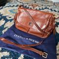 Dooney & Bourke Bags | Dooney & Bourke Zip Flap Fold Over Shoulder Bag | Color: Brown | Size: 13w X 11h X5 D