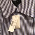 J. Crew Jackets & Coats | J. Crew Striped Trench Jacket | Color: Blue/White | Size: 8