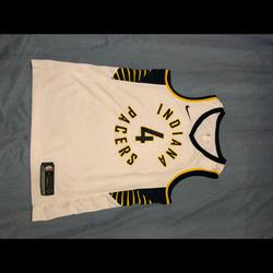 Nike Other | Nba Rare Tiger Claw Design Indiana Pacers Jersey | Color: Cream | Size: 48
