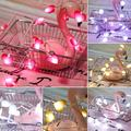 Besufy LED String Lights 1.5/3/5m Love Heart LED Fairy String Light Garland Christmas Wedding Party Decor,Red 5m