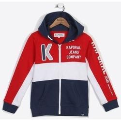 Sweat-shirt enfant Kaporal Junior - Veste zippée - bleu blanc rouge enfant 14 ans