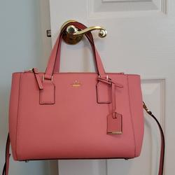 Kate Spade Bags | Kate Spade-Cameron Street | Color: Pink | Size: 9 12 Long By 13 12 W Drop Handle 5