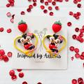Disney Jewelry   Disney Minnie And Mickey Mouse Earrings   Color: Red/Yellow   Size: Os