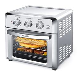 Lifease Geek Chef Air Fryer Toaster Oven, 4 Slice 19qt Convection Airfryer Countertop Oven, Roast, Bake, Broil, Reheat, Fry Oil-free in Gray GTO18