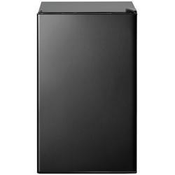 Balight Compact Refrigerator w/ Freezer, Energy Star 3.2 Cu.Ft Mini Fridge w/ Reversible Door, 5 Settings Temperature Adjustable Metal in Black