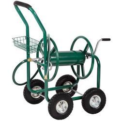 FDW Metal Hose Reel Cart Metal in Green, Size 42.9 H x 24.0 W x 37.0 D in   Wayfair XJ-50-GREEN