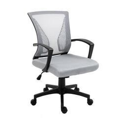 The Twillery Co.® Yareli Mesh Task Chair Upholstered/Mesh in Gray, Size 35.83 H x 24.02 W x 23.62 D in | Wayfair 9B851B4FA1E1446688458F9D83C02491