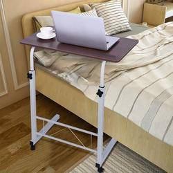 Portable Computer Desk, Inbox Zero Home Office Desk Can Be Lifted & Lowe, Mobile Bedside Table Writing Desk,Portable Standing Desk Laptop Table N