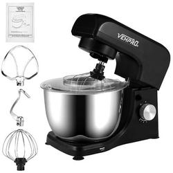 YANCAT Stand Mixer, 4.5l 380w 8-speeds Tilt-head Food Mixer, Kitchen Electric Mixer in Black, Size 14.6 H x 7.1 W x 13.2 D in | Wayfair