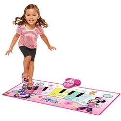 Disney Toys | Kids Minnie Mouse Electronic Music Piano Play Mat | Color: Pink/Purple | Size: Osg