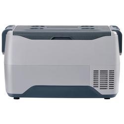 Mofine LLC Car Fridge Portable Freezer Cooler w/ 12/24V DC, Travel Refrigerator For Vehicles, Car, Truck, RV, Camping BBQ in Blue/Gray | Wayfair