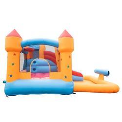 Winado Inflatable House Jumper Bouncy Castle,Ball Pit/Slide/Water Gun,No Blower   Wayfair 269400498804